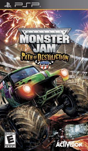 Monster Jam 3: Path of Destruction - Sony PSP by Activision