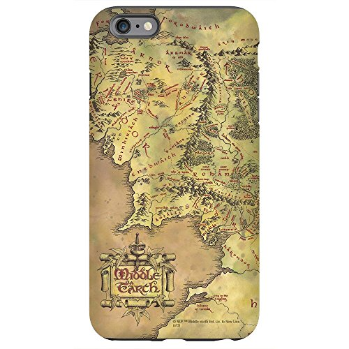 The Lord of the Rings Middle-earth Map Phone Case for iPhone 6/6S Plus