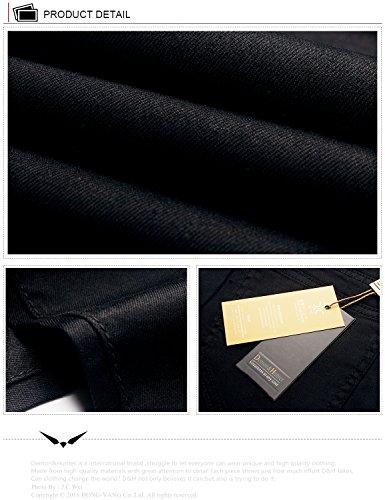 Maigre Dh8022b Demon Femmes Jeans courbe Hausse Sries X amp;Hunter 822 Noir Demi wwxqzSZ0