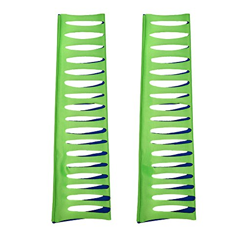 - WWE Authentic Wear Jeff Hardy Green & Navy Arm Sleeves