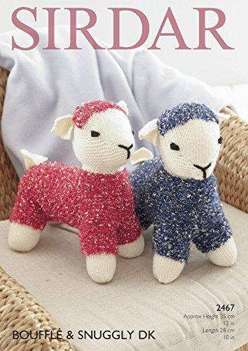 Amazon Sirdar Lamb Cuddly Toy Bouffle Snuggly Knitting