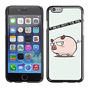 Cubierta de la caja de protección la piel dura para el Apple iPhone 6PLUS (5.7) - Welcome Home Deep Message