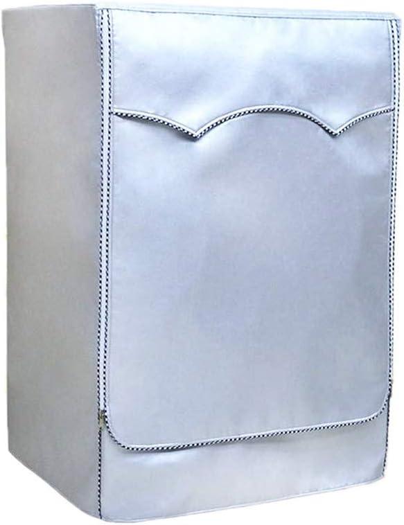 colore Fodera per lavatrice per proteggere il tuo lavatrice o lasciugatrice VORCOOL Argento