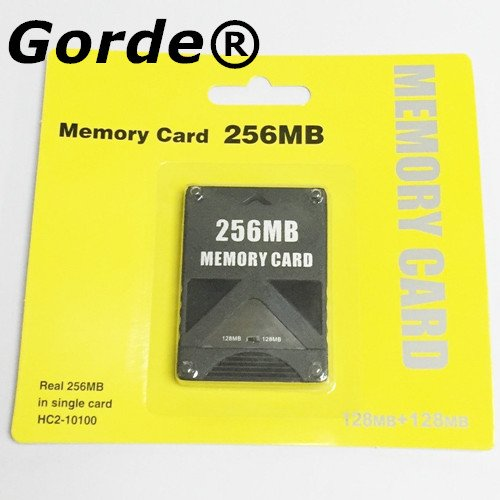 Gorde 256MB Memory Card Game Memory Card for Sony Play Station 2 PS2