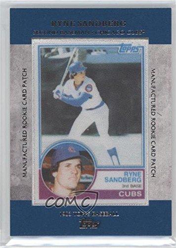 Ryne Sandberg (Baseball Card) 2013 Topps - Manufactured Rookie Card Patch (Ryne Sandberg Card)