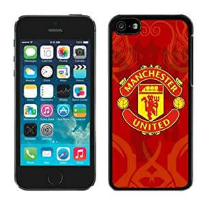 Hot Sale iPhone 5C Case ,Popular And Unique Designed With Manchester United 6 Black iPhone 5C High Quality Cover