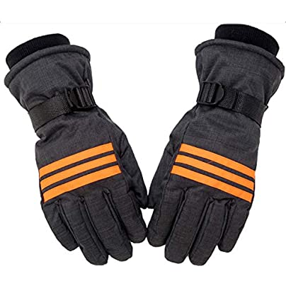 YXDDG Winter Warm Full Finger Gloves Flexible Light Utility Gloves Waterproof Snowboard Snow Cold Weather Wrist Band Estimated Price -