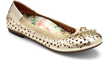 cf618b5db78a Vionic Women's Spark Surin Ballet Flat - Ladies Flats with Concealed  Orthotic Arch Support