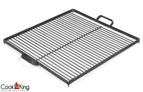 Cook King 1112261 Black Steel Grill Grate for Fire Bowl - 49.78cm by CookKing