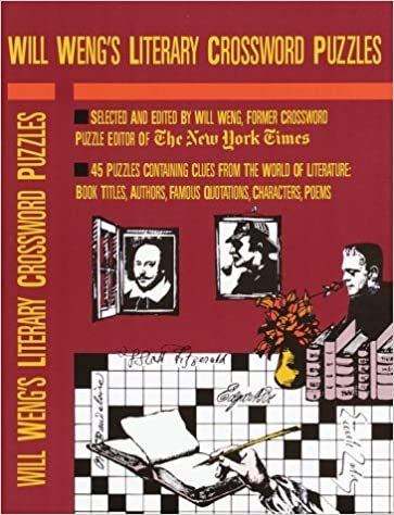 Will Weng S Literary Crosswords Other Weng Will Williams Wayne Robert 9780812918427 Amazon Com Books