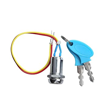 2 Wire Ignition Switch Key Switch Ignition Switch for Electric Scooter Bike