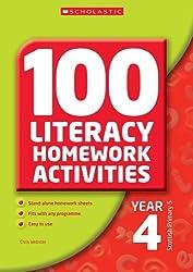 100 Literacy Homework Activities Year 4