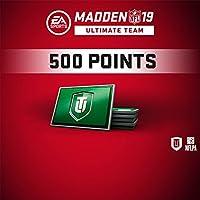 MADDEN NFL 19: MADDEN NFL 19 - MUT 500 MADDEN POINTS PACK (IN-GAME) - PS4 [Digital Code]
