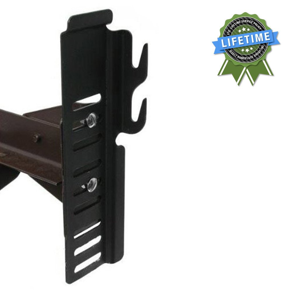 #65 Adapto-Hook Bolt-On to Hook-On Conversion Brackets for Headboard & Footboard Attachment, Set of 2