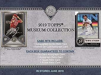 Amazon.com: 2019 Topps Museum Collection Baseball Hobby Box ...