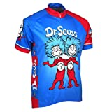 Thing 1 and Thing 2 Dr. Seuss Cycling Jersey by Retro Image Men s Short  Sleeve 84d2d7d0a