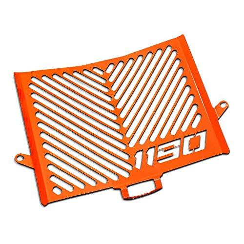 Protezione Radiatore KTM 1190 Adventure/ R 13-16 Inox arancione logo MP