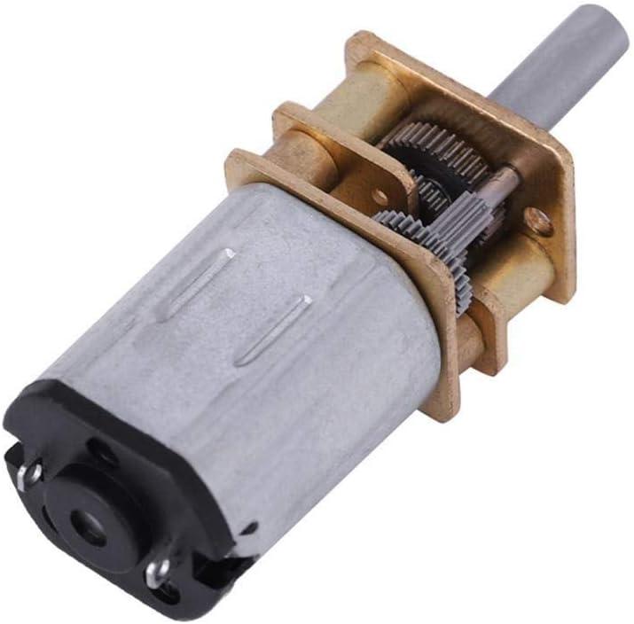 Broco Neue N20 DC3V 6V 12V 50-2000RPM Setzungsgetriebe DC Motor mit Metallgetriebe