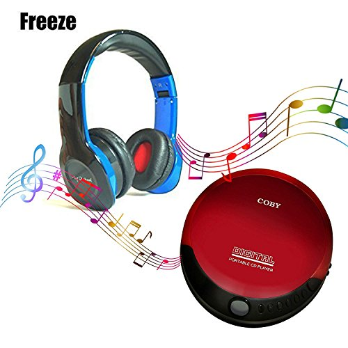 Coby portable compact CD player With bonus I-kool Freeze ser