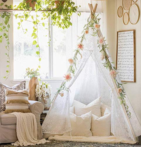 Tiny Land Luxury Lace Teepee Tent Girls Amp Adults Xx Large