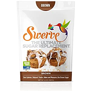 Swerve Sweetener, Brown, 12 ounces