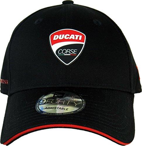 Cappellino New Era - 9Forty Ducati Corse Text Vice nero rosso formato   Regolabile  Amazon.it  Abbigliamento 326cb40a4410