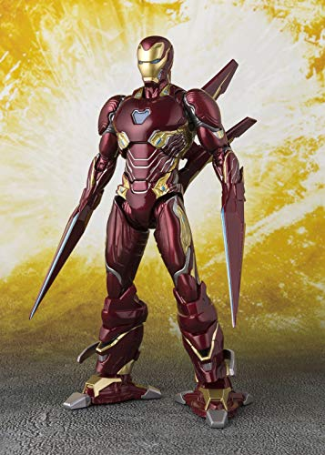 Tamashii Nations Avengers: Infinity War Iron Man Mk-50 Nano-Weapon Set, BandaiS.H.Figuarts