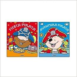 Piratas con pegatinas (Pack de 2 libros): Amazon.es: Susaeta ...