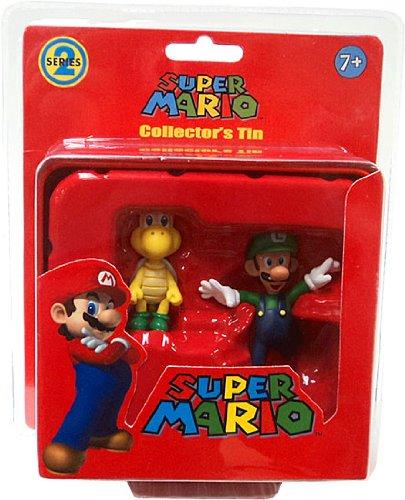 Super Mario Brothers Series 2 Collectors Tin 2Pack Koopa Troopa Luigi Red -  BanPresto, NIN-F208