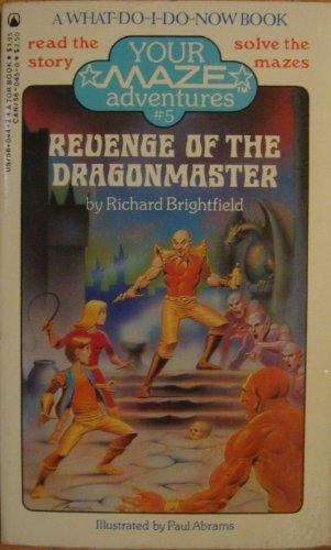 book cover of Revenge of the Dragonmaster