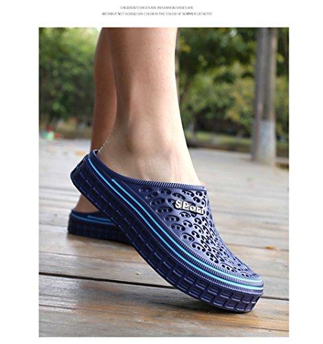 BETY Bleu de Chaussures Pantoufles Outdoor Mules Été Sabots Plage Hommes Chaussons Femmes Enfiler Sandale Clog à RvqCRnrxO