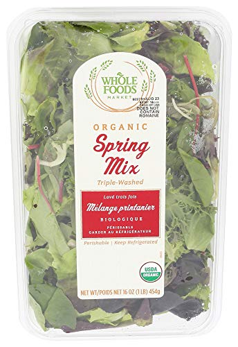 Whole Foods Market, Organic Spring Salad Mix, 16 Ounce