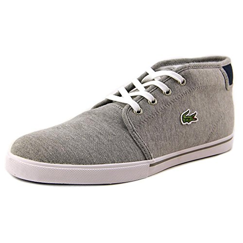 Lacoste Ampthill Men US 13 Gray Chukka Boot