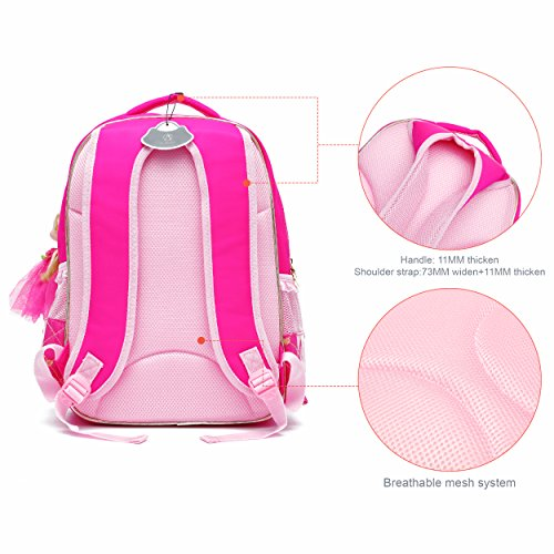 Small for Bookbag Adorable Rose Backpack Barbie Schoolgirls Princess Red Ali Doll Series Black Elementary School Victory 1ZW1Rz4