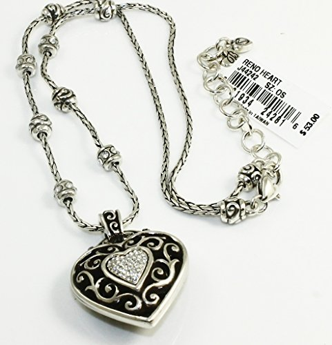 Brighton Swarovski Crystal Silver Necklace product image