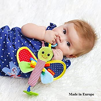 Infant Toys 0 6 Month Baby Rattle Girls Boys Newborn Toys 0 3 Month Baby Teething Toys Baby Toys 0 3 Month Stroller Toys Infant