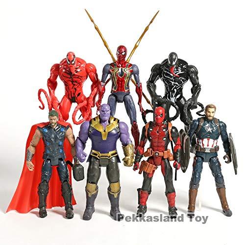 Amazon.com: VIETFR Marvel Carnage Iron Deadpool Venom ...