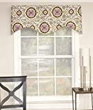 RLF HOME Celestial Sterling 50 Inch Curtain VALANCE For Sale
