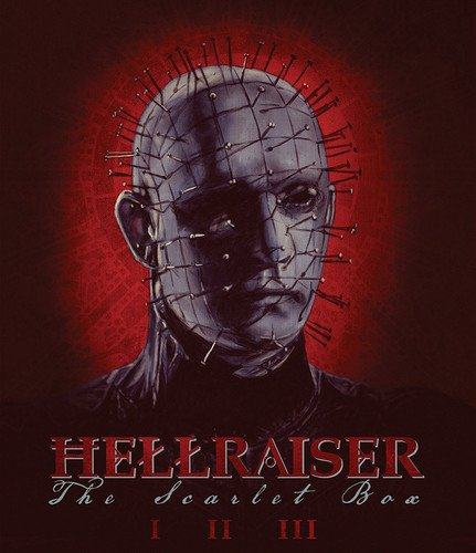 Hellraiser: The Scarlet Box Limited Edition Trilogy [Blu-ray] [Region - Hellraiser Ray Two Blu