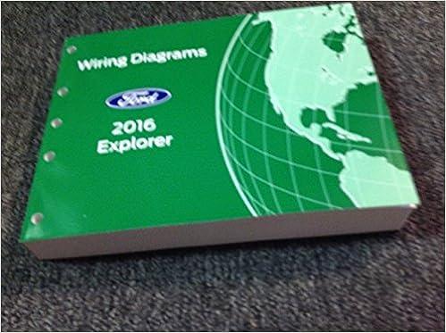 [QNCB_7524]  2016 Ford Explorer SUV Wiring Electrical Diagram Manual OEM NEW EWD 2016:  Ford: Amazon.com: Books   2016 Ford Explorer Wiring Schematic      Amazon.com