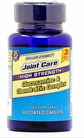 Holland & Barrett High Strength Glucosamine & Chondroitin Complex 30 Caplets