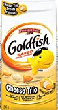 Pepperidge Farm Goldfish Cheese Trio, 200g/7.05 Ounces {Imported from Canada}