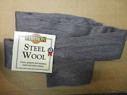 Celtic Woods Liberon Steel Wire Wool 0000 Ultra fine - 1 Meter Pack (includes a wallet calendar) Liberon Steel Wool