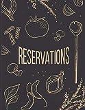 Reservations: Reservation Book For Restaurant