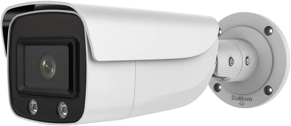 4MP ColorVu PoE IP Camera Fashion with Hikvision Compatible DS-2CD2T47 - Dallas Mall