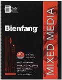 """Bienfang Mixed Media Paper Pad 11"""" X"""