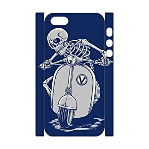 3D Skull Design For Iphone 5C Phone Case Cover White Yearinspace111248