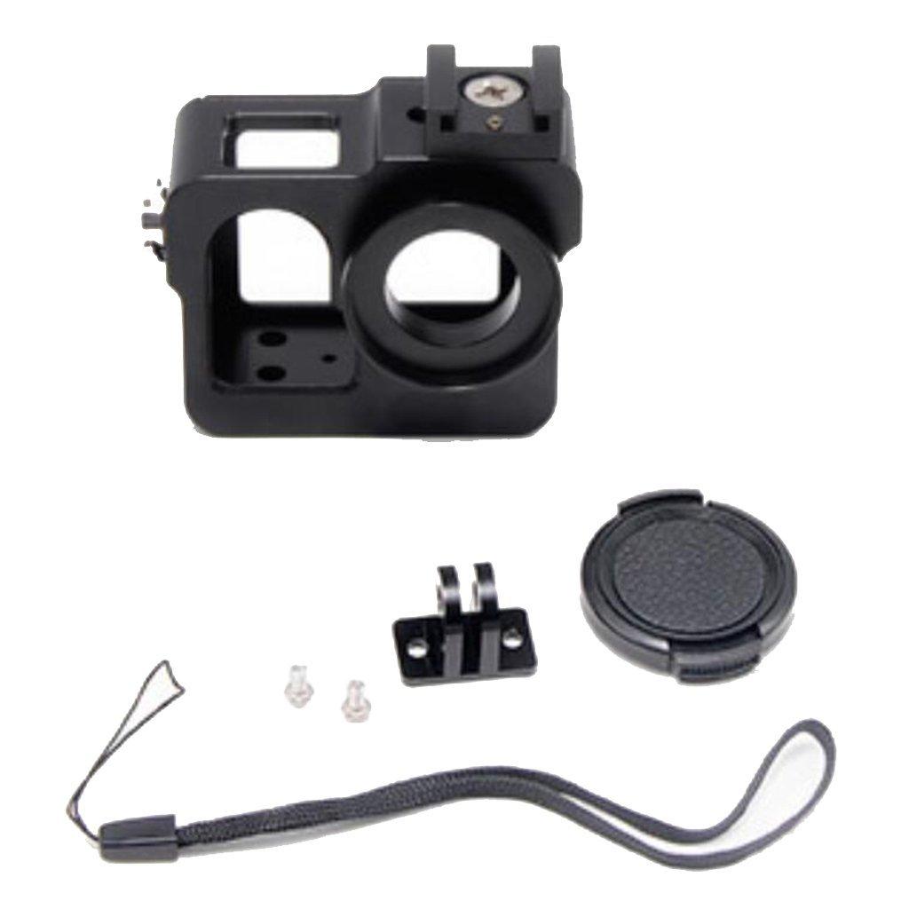 yifant for sj5000カメラアルミニウム合金メタルハウジングフレーム保護ケース、SJCAM sj5000 / sj5000 WiFiアクションカメラアクセサリー   B07G485FWX