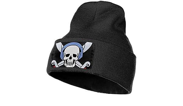 100/% Acrylic Acid Mas Beanie Hat Ruin Pirate Skeleton King Fashion Knitting Hat for Men Women