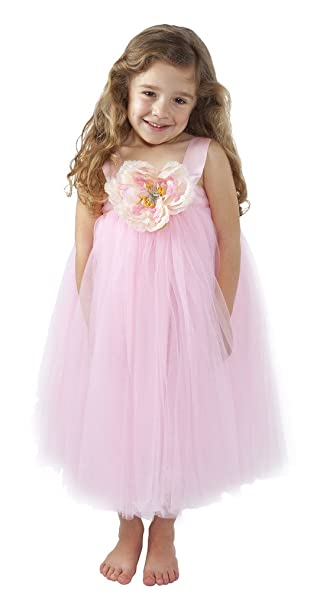 Amazon.com: Flower Girl Dress Wedding Dress for Girls Birthday, Baby ...